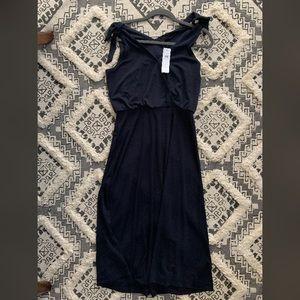 Ann Taylor sleeveless tie dress